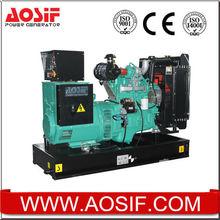 50HZ 40KVA diesel electric generator power by Cummins engine 4BT3.9-G2 from Cummins OEM facotry