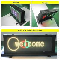 wireless taxi led top light display led screen display for taxi