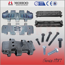 Full OEM Track Pad, track shoes, crawler shoes Customization Services for crawler from China
