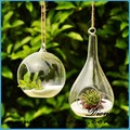 2015 alta- grado creativo de largo colgando florero de vidrio