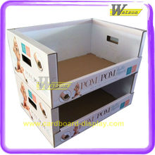 New Design Hot Selling Corrugated Cardboard Trays PDQ Display Box for Foot Care Product