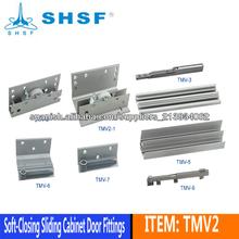 Herraje para puerta corredera de acero para armario TMR
