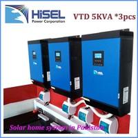 HiSEL inverter 12v 220v 1000w solar panel system