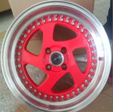 18x9.5 Polished Gloss Black Car Alloy Rims for sale