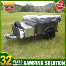 Heavy duty off road steel camper trailer
