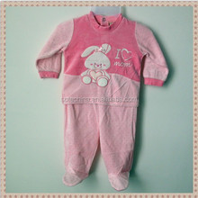 2015 new design hot wholesale baby knitted garments 100%cotton newborn set/toddlers set