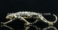 exquisite antique leopard figurine perfect home decoration & high end business gift