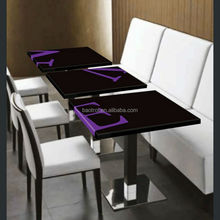 high quality with competitive price solid surface table ,acrylic dining table