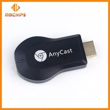 High speed anycast ezcast m2 plus one setting miracast dongle