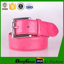 Many color women lether belt used leather belt with crystal buckle