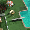 manufacturing artificial grass for swimming pool