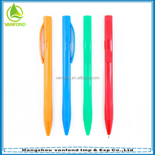 2015 cheap refillable promotional ballpoint pen with Logo printing