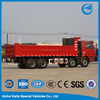 16 Cubic Meter 10 Wheel Heavy Duty Dump Truck For Isuzu