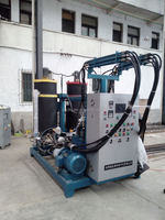 DCPD silicone rubber injection molding machine for fascia board