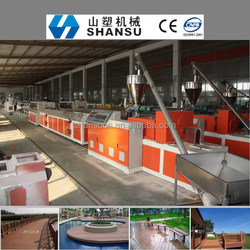 WPC MACHINE FOR WOOD PLASTIC COMPOSIT