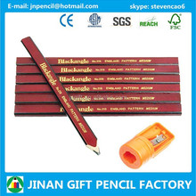 176mm Rectangular Carpenter Pencil Imprinted Logo/Carpenter Pencil Supplier