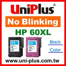 Ink Cartridge for HP 60 60XL CC641WN CC644WN remanufactured cartridge