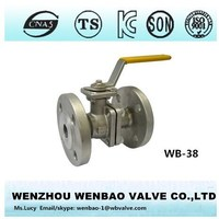 WB-38 ANSI 150LB 2PC CF8M Flanged Ball Valve /Flanged API 6D Ball Valve 8 inch