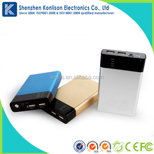 2015 China Supplier Oricore F2 10400mah 2in1 built-in polymer lithium battery portable mobile Power Bank