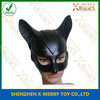 X-MERRY Rubber Latex Sex Eye mask Costume Catwoman Sex Female Party Mask Halloween