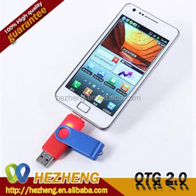 Wholesale Coloful 32GB Swivel Mobile Phone OTG USB Pen Drive