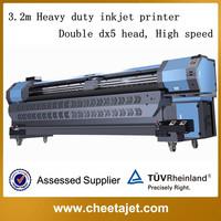 Discount ! original 3.2m YF-3200D heavy duty DX5/DX7 eco solvent injet printer