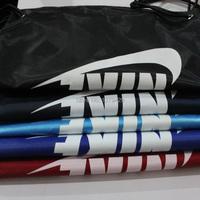 высокое качество: 100pcs/lot спортивную сумку, затягивающийся, спортивная сумка, логотип шнурок рюкзаки, может, напечатаны с ваши логотипом db11