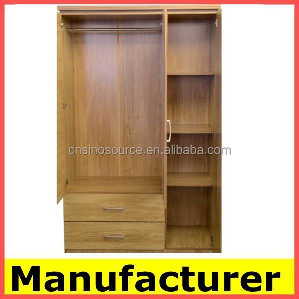 Wholesale wooden bedroom almirah designs with price buy for Bedroom wall almirah designs