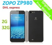 "ZOPO ZP980 2GB&32GB ROM Android Smart Mobile Phone MTK6589T Quad Core 5.0"" FHD 3G Smartphone"