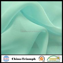 100% natural printed silk chiffon fabric for dress/wedding/bedding