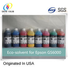 Eco Solvent compatible Ink for Epson GS6000 GS 6000
