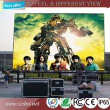 HOT Sell!! P10 outdoor DIP all color led display screen/led tv digital billboard