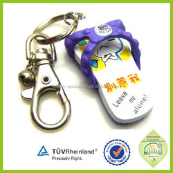 high quality customized lovely animals 2015 love keychain