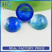 Synthetic Quartz stone Blue Cabochon Wholesale