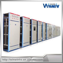 Top sheet metal distribution cabinets custom: feed cabinets, AC cabinets.