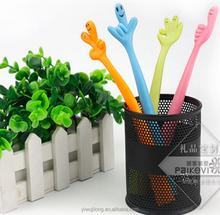 2015 flexible finger ball pen for promotion
