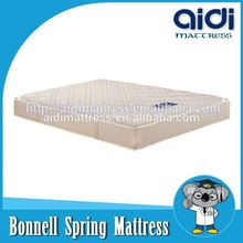 Eco-Friendly Cotton Fabric Ultra King Compress Bonnell Spring Hotel Bed Mattress AL-1110