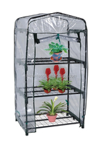 LG-HD4018 Yongkang LanGe three layer agricultural mini PE garden greenhouse