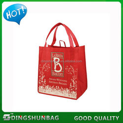 Top grade hot-sale merry Christmas gift nonwoven bag stock
