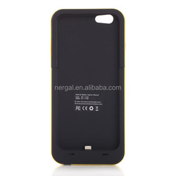 Newest universal hot oem battery charging case for iphone 6