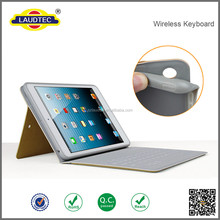 PU Leather Magnetic Front Smart Cover Cases+insert bluetooth keyboard Shell For iPad Air 2 Case