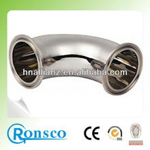 high quality 90 degree stainless steel elbow