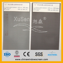 stainless steel window screen/ fly and insect proof screen