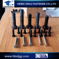 High strength Hex bolt DIN931 DIN933 Grade 8.8 10.9