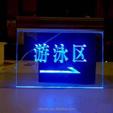 amazing acrylic 2014 new xxx images led display flash high quality