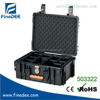 503322 Hard plastic device case with shoulder tape