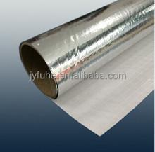 Aluminium foil laminated pe tarpaulin,heat shield protect tarp