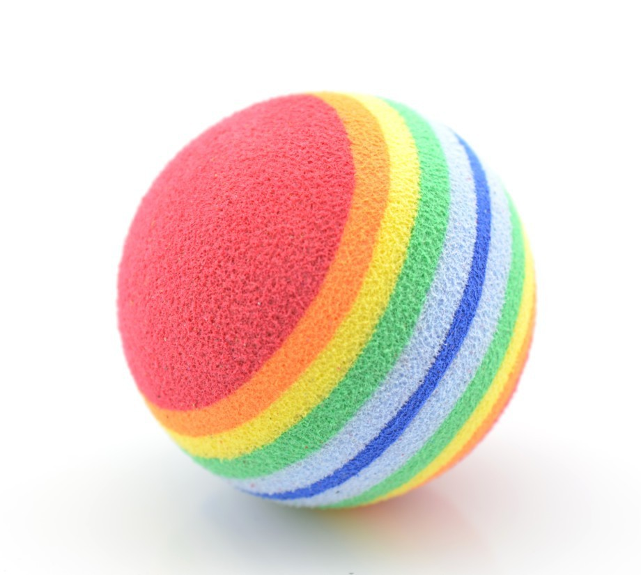 Small Toy Balls : Eva foam ball for pet bounce dog toy