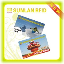 125KHz clamshell id card with thickness 1.8mm used in time attendance or access control(free samples)