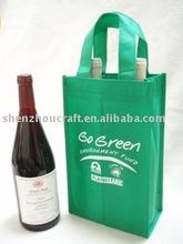 non-woven wine bottle carrier bag